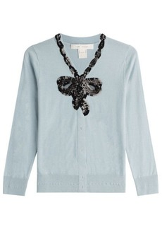 Marc Jacobs Wool Cardigan with Sequins