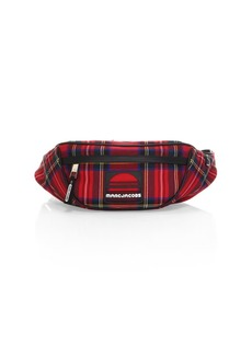 Marc Jacobs Wool Sport Tartan Belt Bag