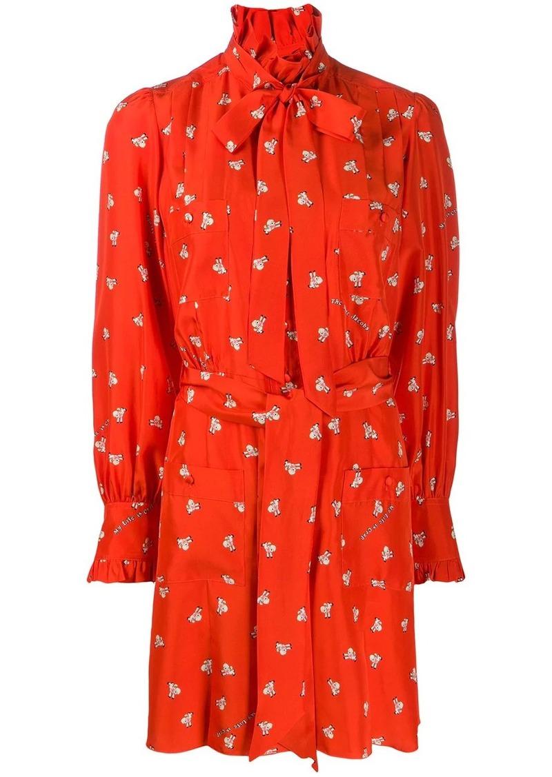 Marc Jacobs x Magda Archer graphic print shirt dress