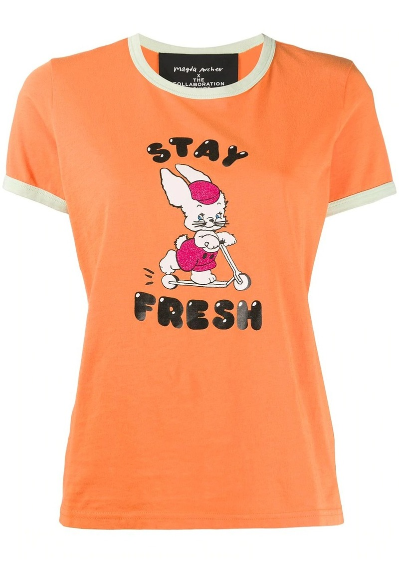 Marc Jacobs x Magda Archer Stay Fresh T-shirt