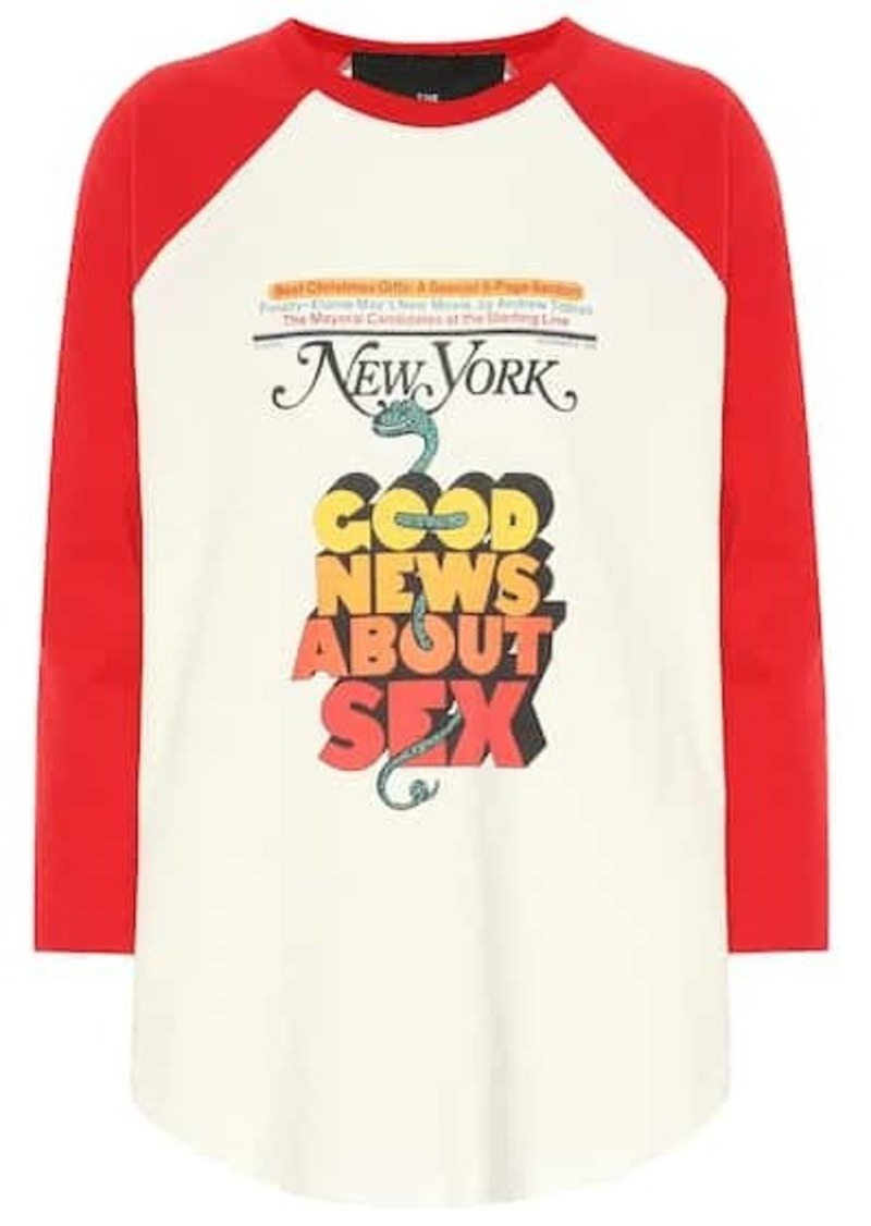 Marc Jacobs x New York Magazine® The Baseball top