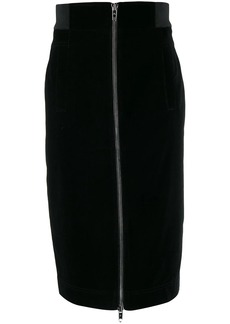 Marc Jacobs zip front pencil skirt