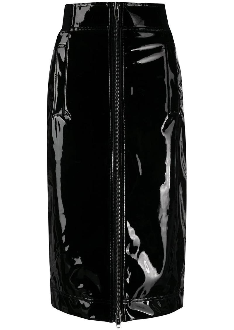Marc Jacobs zip-through pencil skirt