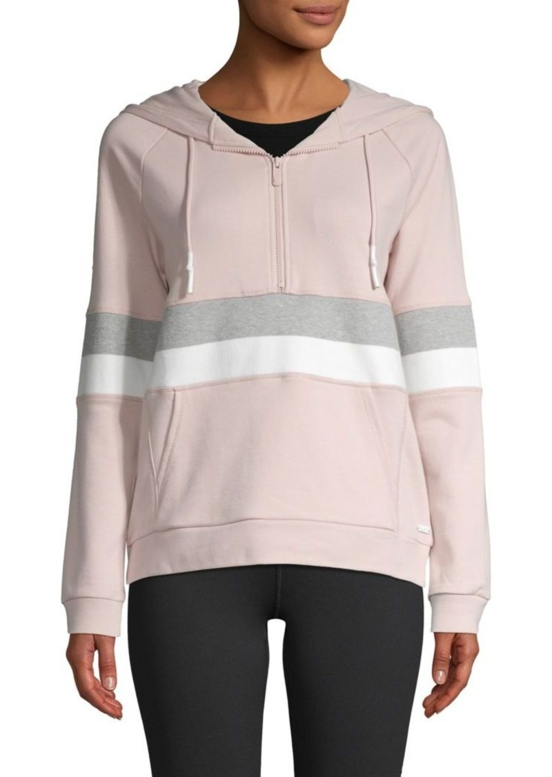 Marc New York Colorblock Cotton-Blend Hoodie