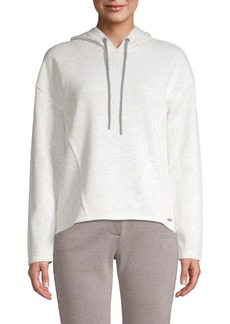Marc New York Deconstructed Heathered Hoodie