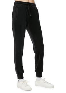 Marc New York Drawstring Velvet Jogger Pants