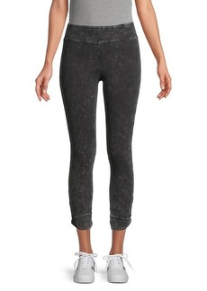 Marc New York Faded Stretch-Cotton Leggings