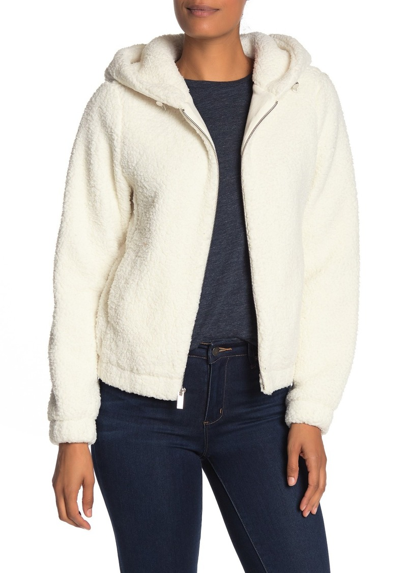 Andrew Marc Faux Fur Teddy Jacket