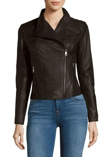 Marc New York Felix Leather Moto Jacket
