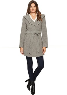 "Flair 31"" Felted Wool Coat"