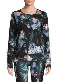 Marc New York Floral Cotton Top
