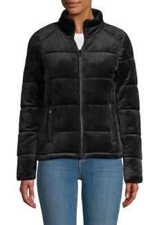 Marc New York Full-Zip Velvet Jacket