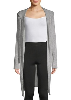 Marc New York Hooded Longline Cardigan