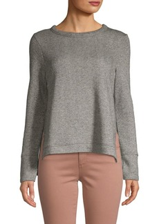 Marc New York Knit Sparkle High-Low Pullover