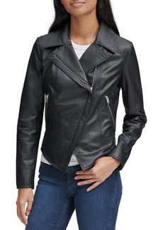 Marc New York Bayside Leather Moto Jacket