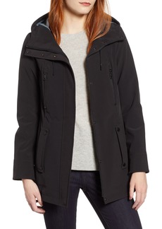 Marc New York Bonded Jersey Hooded Parka