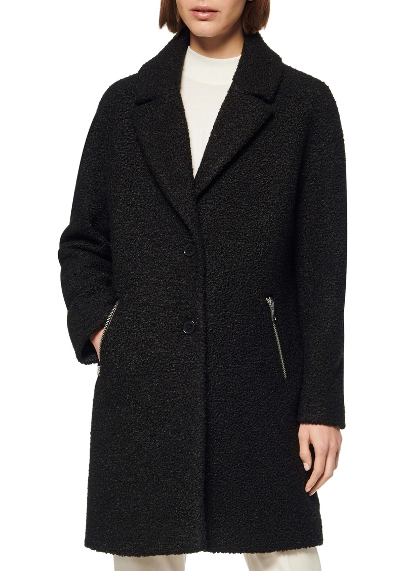 Marc New York Bouclé Car Coat