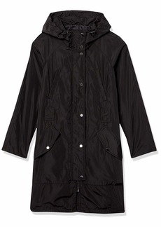 Marc New York by Andrew Marc Women's Cove Faux Memory Rain Jacket