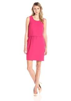 Marc New York by Andrew Marc Women's Sleeveless Popover Dress