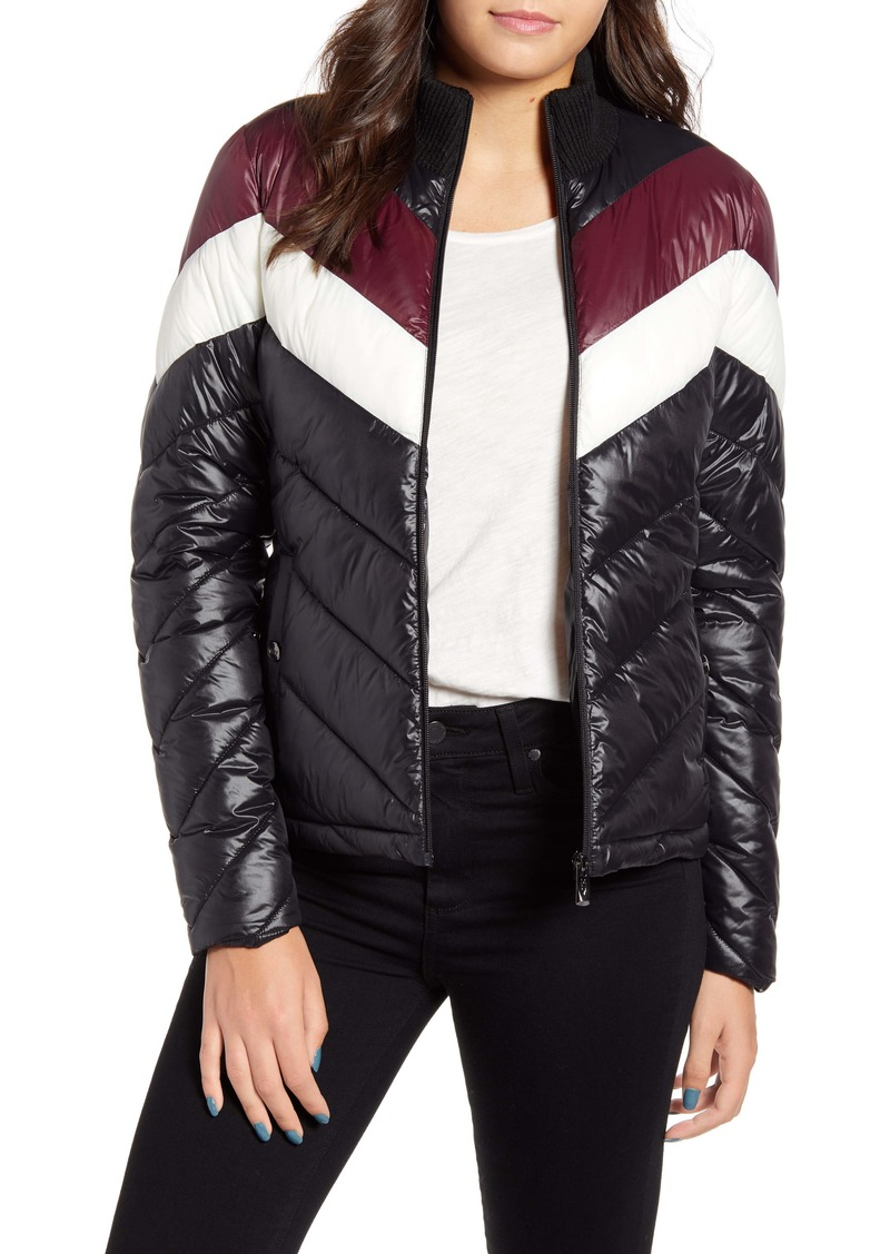 Marc New York Chevron Puffer Jacket