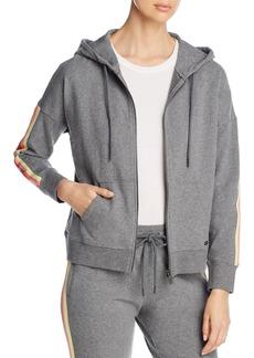 Marc New York Contrast Detail Hooded Sweatshirt