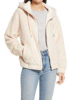 Marc New York Faux Shearling Hoodie