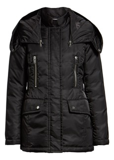 Marc New York Flight Satin Puffer Jacket