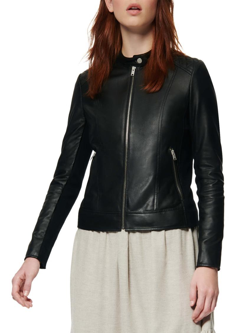 Marc New York Glebrook Leather Jacket
