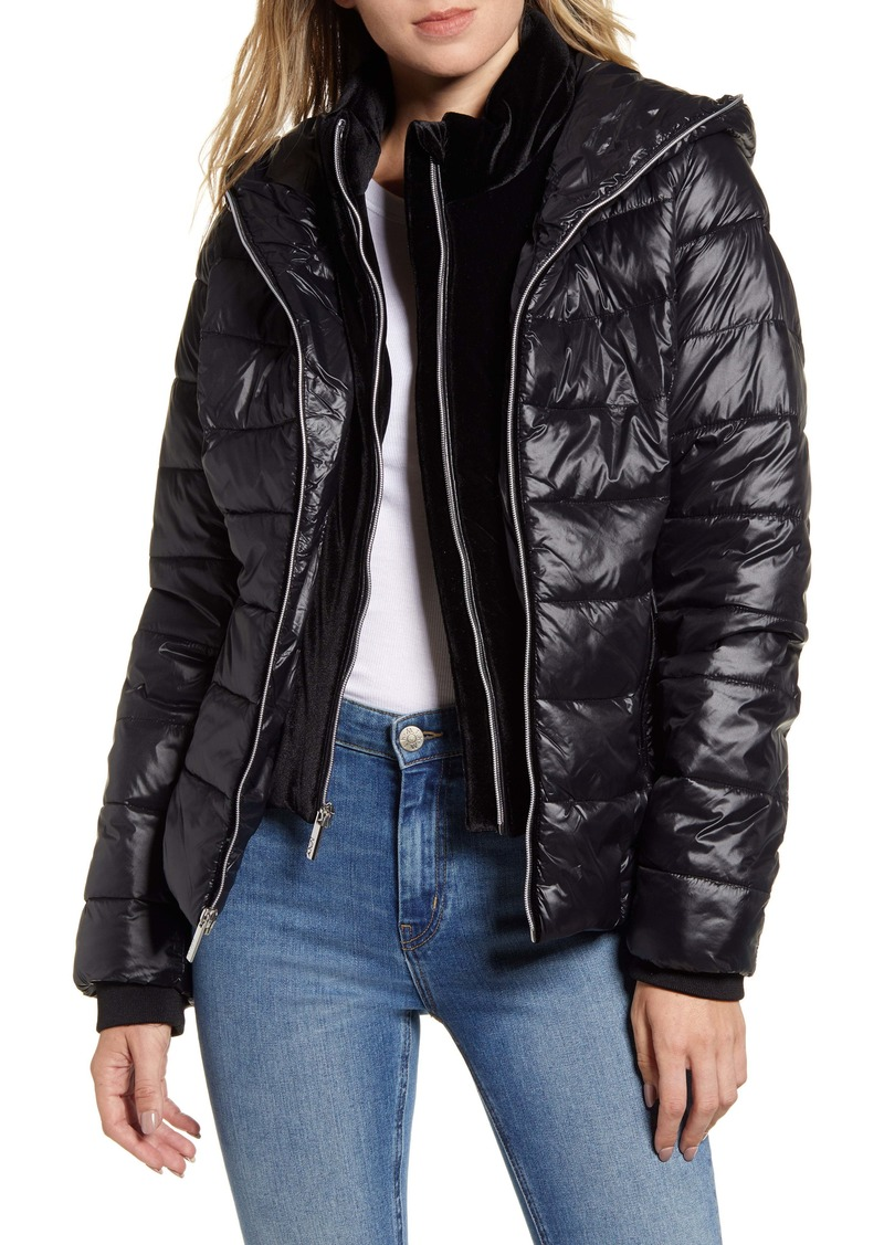 Marc New York Hooded Puffer Jacket