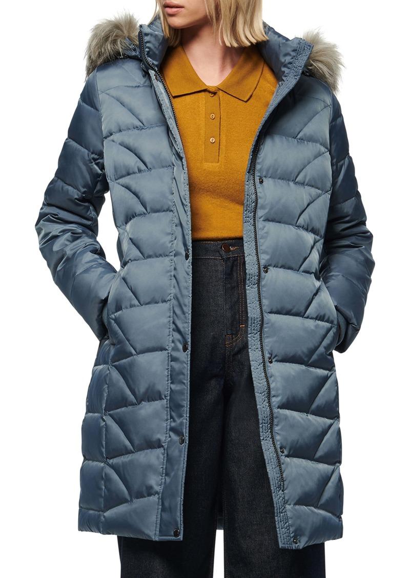 Marc New York Medina Faux Fur Trim Down Puffer Jacket
