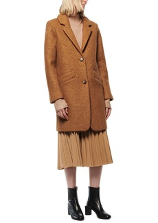 Marc New York Paige Pressed Boucle Coat