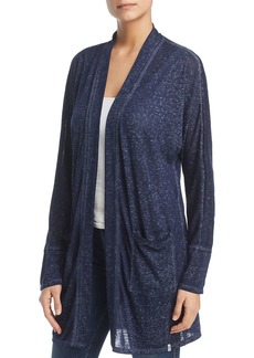 Marc New York Performance Burnout Long Open Cardigan