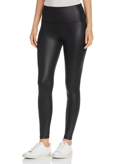 Marc New York Performance Coated Liquid Jersey Leggings