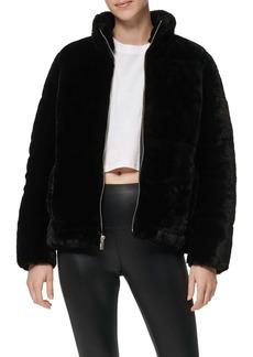 Marc New York Performance Faux Fur Puffer Jacket