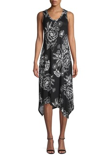 Marc New York Performance Floral Sharkbite Dress