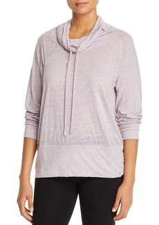 Marc New York Performance Heathered Jersey Pullover Top