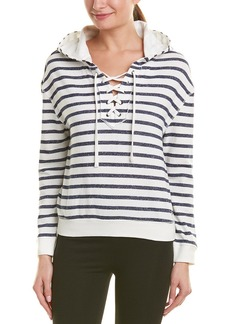 Marc New York Performance Hooded Lace-Up Pullover