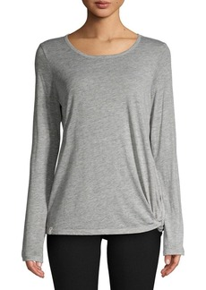 Marc New York Performance Knotted Long-Sleeve Tee