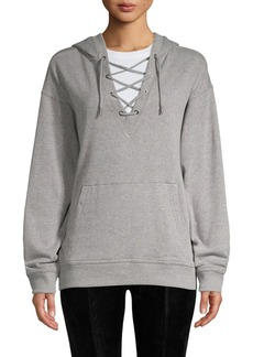 Marc New York Performance Lace-Up Hoodie