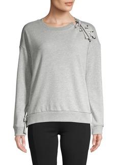 Marc New York Performance Lace-Up Sweatshirt