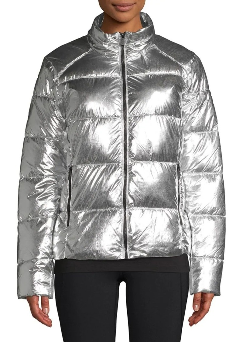 Marc New York Performance Metallic Puffer Coat