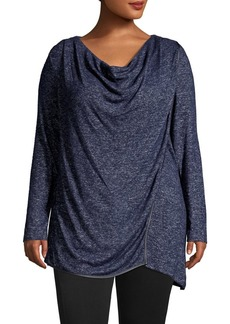 Marc New York Performance Plus Asymmetric Hatchi Sweater