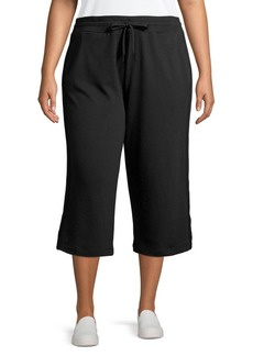 Marc New York Performance Plus Cropped Lounge Culotte Pants
