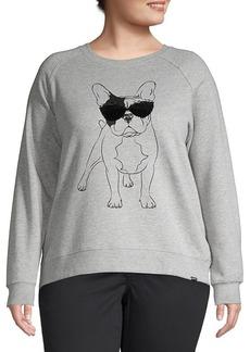 Marc New York Performance Plus Long-Sleeve Printed Sweater