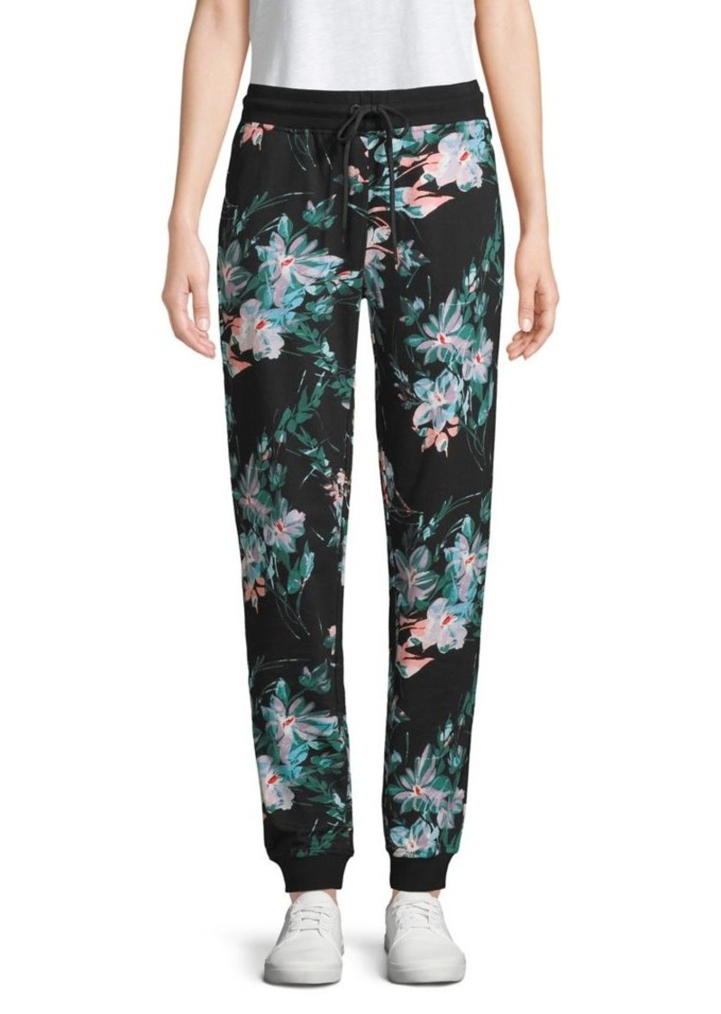Marc New York Performance Printed Cotton Jogger Pants