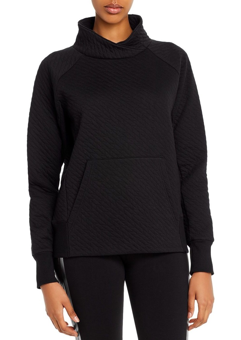 Marc New York Performance Quilted Funnel-Neck Sweatshirt