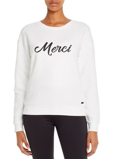 Marc New York Performance Quilted Graphic Sweatshirt