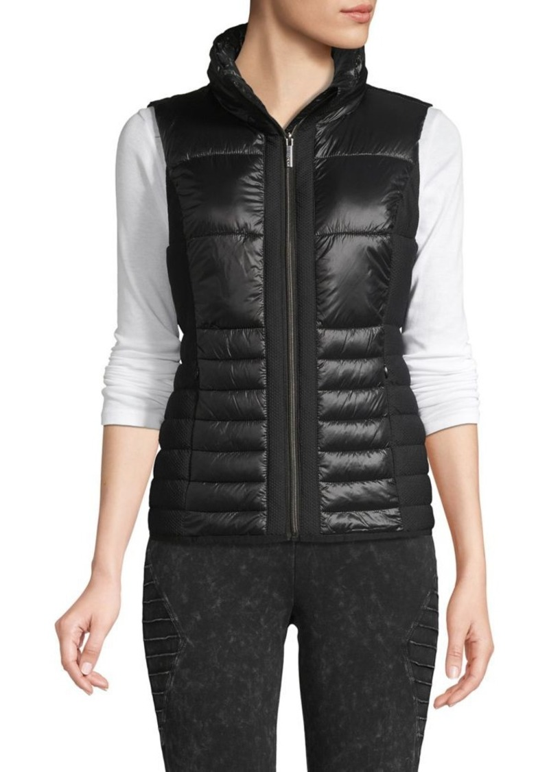Marc New York Performance Quilted Hooded Vest