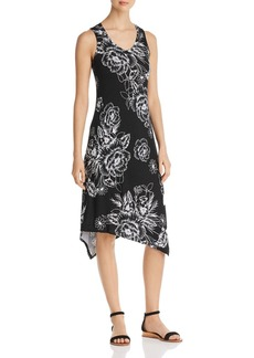 Marc New York Performance Sleeveless Floral-Print Midi Dress