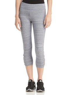 Marc New York Performance Space-Dyed Cropped Leggings